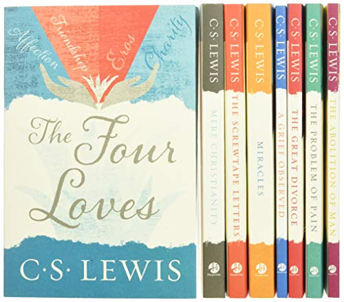 The C. S. Lewis Signature Classics (8-Volume Box Set): An Anthology of 8 C. S. Lewis Titles: Mere Christianity, The Screwtape Letters, Miracles, The The Abolition of Man, and The Four Loves