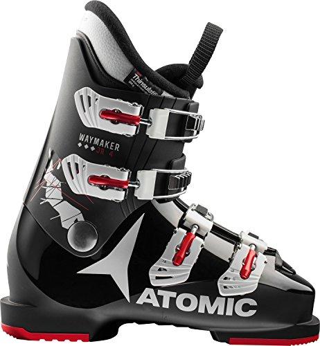 ATOMIC Waymaker 4 Chaussures Chaussures de Ski pour Enfant Boys 2018 Chaussures de Ski, Mixte, Noir/Blanc/Rouge