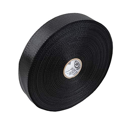 Cambridge Duct Support Webbing 300-ft x1 3/4-in, Black