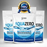 Aqua Zero Pills Water Retention Bloating, Diuretic, Diet Detox Tablets