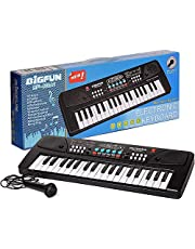 Ey Catching Electronic 37 Keys Toy Keyboard Piano with Microphone