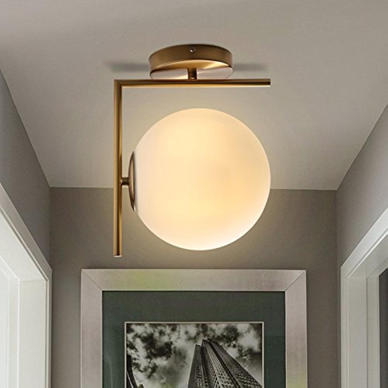 StiefelU LED Wandleuchte nach oben und unten Wandleuchten Schlafzimmer Wand lampe Nachttischlampe Glas Wandleuchte rundes Wohnzimmer Wand Lampen LED