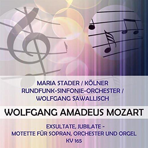 Maria Stader & Koelner Rundfunk-Sinfonie-Orchester