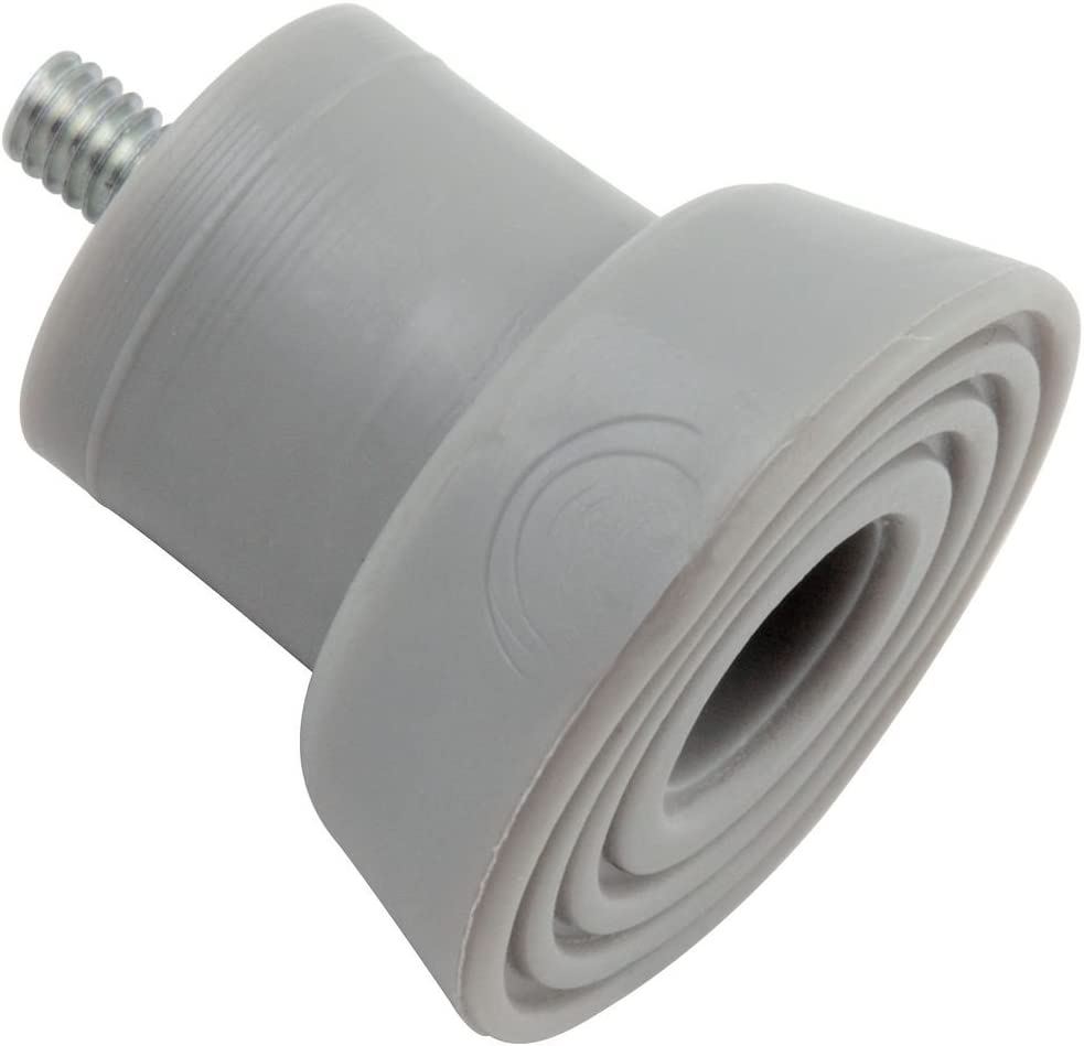 National Hardware N225-557 V238TS Door Stop 67% OFF of fixed price pack Long-awaited Gray in 2 Tips