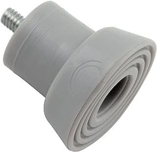 National Hardware N225-557 V238TS Door Stop Tips in Gray, 2 pack