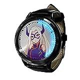 My Hero Academia Reloj con Pantalla táctil Led Resistente al Agua Reloj de Pulsera con luz Digital Unisex Cosplay Regalo Nuevos Relojes de Pulsera niños-A09