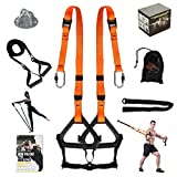 Moulyan Bodyweight Resistance Training Straps Complete Home Gym...