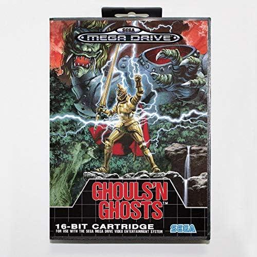 Aditi Ghouls n Ghosts 16 bit SEGA MD Game Card With Retail Box For Sega Mega Drive For Genesis product image
