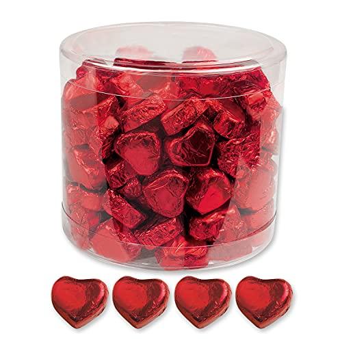 Günthart 150 Schokolade Herzen, rot, Schoki Schokolade: Rot