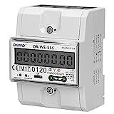 ORNO WE-516 Contatore Energia Elettrica Guida DIN per Sistemi Trifase con Certificato MID e RS845