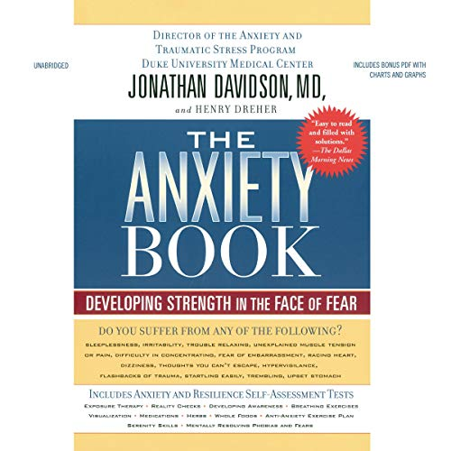 The Anxiety Book audiobook cover art