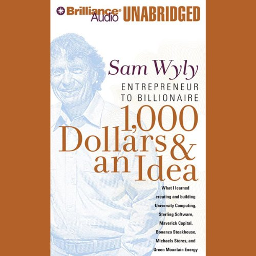 1,000 Dollars & an Idea audiobook cover art