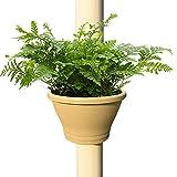Kreative Hängetöpfe für Pflanzen - Hängende Sukkulenten töpfe Pflanzgefäß - Der Blumentopf PVC-Rohr-Typ Hängend an der Wasserpfeife - Gartenzaun Pflanzgefäße für Balkon für Hausgarten Dekor (A)