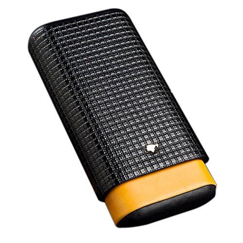 Cigar Tube Leder Travel Zigarre Fall Zedernholz Rohr Mini Humidor