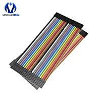 10 x 40PCS Dupont 10CM Female To Female Jumper Wire Ribbon Cable for Arduino