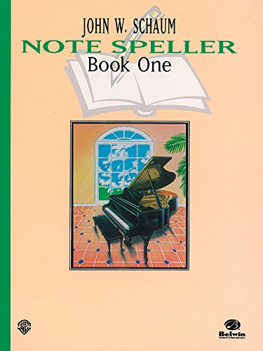 Schaum Note Spellers Book 1 (Schaum Method Supplement)