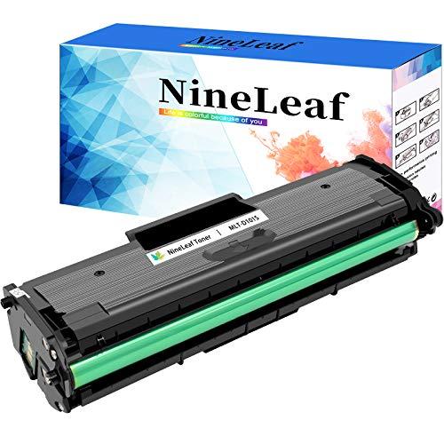 Nineleaf Compatible Toner Cartridge Replacement for Samsung 101S MLT-D101S Black for ML-2165W SCX-3405FW SF-760P ML-2160 ML-2165W 1 Pack