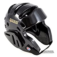 ProForce Lightning Sparring Headgear - Black - Medium