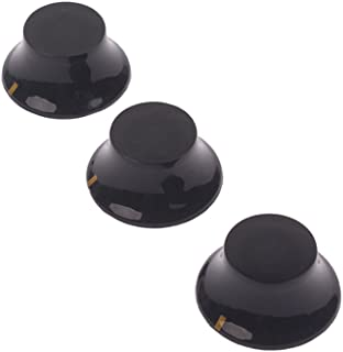 Healifty 3 PCS/Set Guitar Volume Tone Control Knobs Guitar Knobs for Fender Strat Stratocaster Electric Guitar Parts