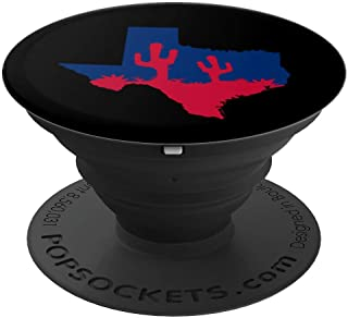 Love Texas Cactus TX Home The Lone Star State Souvenir Gift PopSockets Grip and Stand for Phones and Tablets