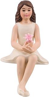 Preteen Girl Porcelain Figurine Wedding Cake Topper