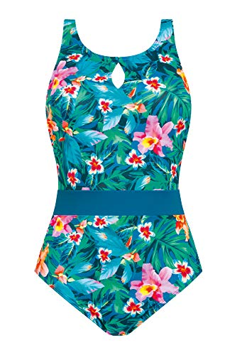 Amoena Damen Mauritius Einteiliger Badeanzug, Multi, 44