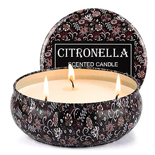 Tobeape Candele Citronella all'aperto, Candele giardino Candele profumate 75-100 ore...