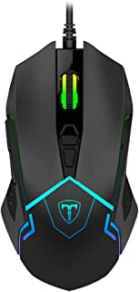 Mouse Gamer T-Dagger Senior Preto RGB T-TGM205