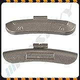 40g x 100 Schlaggewichte Stahlfelgen Auswuchtgewichte Wuchtgewichte Gewichte