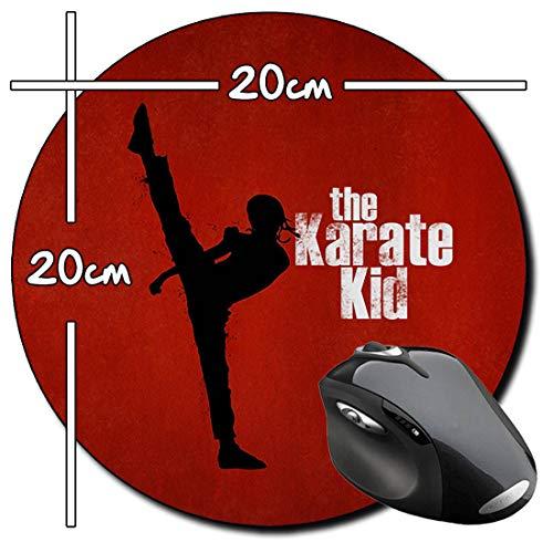 The Karate Kid Jackie Chan Jaden Smith Alfombrilla Redonda Round Mousepad PC