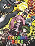 Danganronpa Coloring Book: Fantastic Coloring Book For All Fans Of Danganronpa , With High-Quality Character Designs, for Kids and Adults