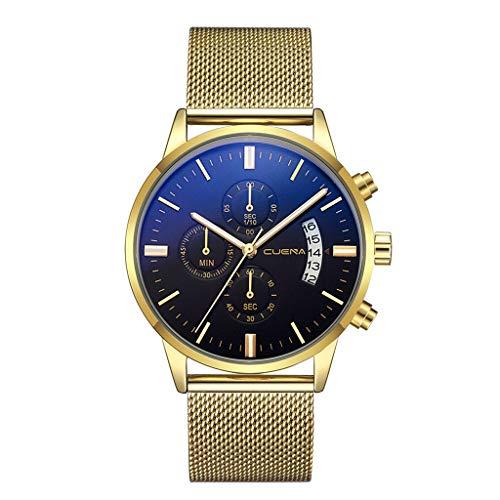 Armbanduhren männer Herrenuhr mit Datum Funktion Herren uhren Quarzuhr Edelstahl Zifferblatt Bracele Uhr Armbanduhr Uhren Armbanduhren Herrenarmbanduh E 4021