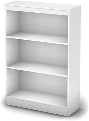 White Book Organizer Closet Storage Unit With Cubes Shelves Cabinet Shoe Space Saver Shelving
