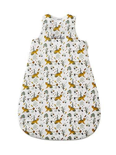 Vertbaudet Saco de dormir para bebé, diseño de oso panda multicolor estampado 70
