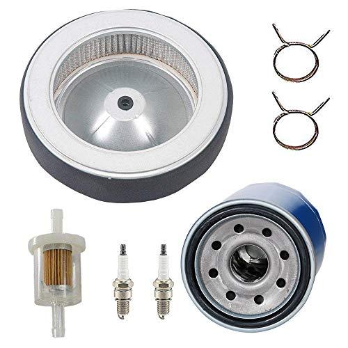 HIFROM Ersatzölfilter Kraftstofffilter Luftfilter Zündkerze Kit für Honda GX630 GX660 GX690 Rasenmäher Teile Neu