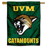 College Flags & Banners Co. Vermont Catamounts UVM Double Sided House Flag