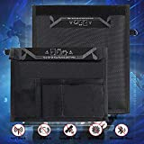 Faraday Bag, Signal Blocking Bag for Cell Phones, Car Key Fob Protector, Signal Blocker and Faraday Cage, Anti-Car Theft, Anti-Hacking & Anti-Tracking Assurance, Radiation Protection (9.8x11 inch)