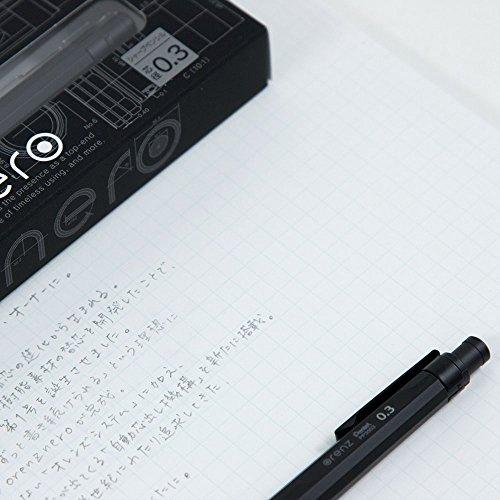 ぺんてる『orenznero(オレンズネロ)0.3mm』