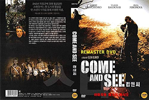 Come And See ,Idi i smotri (1985) English,French,Spanish Subtitles / '2020 REMASTER' / NEW DVD - NTSC, All Region ( Registered Airmail ) STARVISION