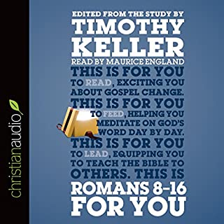 Romans 8-16 for You cover art