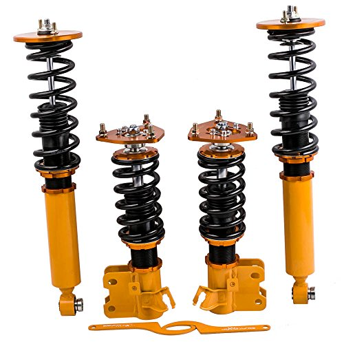 for Nissan S14 240SX Silva 1995-1998 Coilovers Suspension Spring Shock Absorber Adjustable Height &...