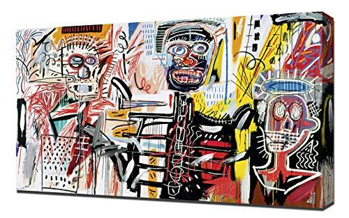 Philistines - Jean Michel Basquiat - Impression sur Toile - Image sur Toile - Impression Giclée