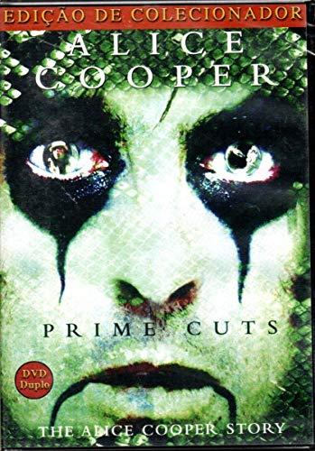 DVD Duplo Alice Cooper - Prime Cuts - Edição de Colecionador