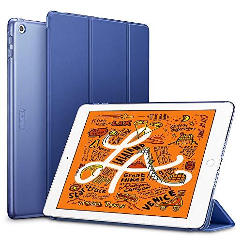 ESR Funda para Nuevo iPad Mini 5 2019/iPad Mini 2019, Funda Flexible Ligera con Modo Automático de Reposo/Actividad, Forro de Microfibra, Funda Trasera Suave para iPad Mini 2019-Azul