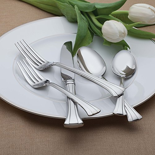 Waterford Mont Clare 18/10 Stainless Steel 65-Piece Set, Service for 12 Mississippi