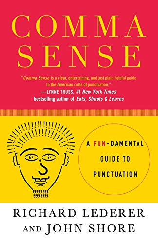 Price comparison product image Comma Sense: A Fundamental Guide to Punctuation