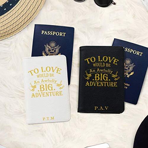 Bisu Bisu Personalized Couple Passport Covers Dinosaurs