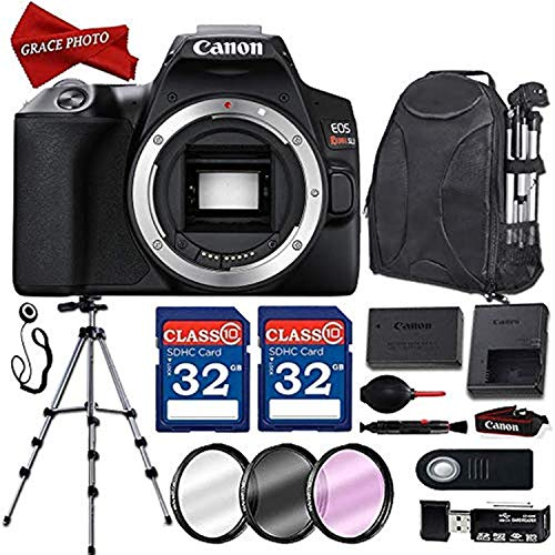 Lowest Prices! Canon EOS Rebel SL3 Digital SLR Camera (Body Only) with Deluxe Accessory Bundle incl....