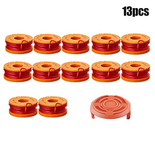 Best Review Of Sweetichic Edger Spools WA6531 GT Spool Caps Kit Grass Trimmer Spool Replacement for ...