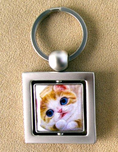 キーチェーン★ミーゴ★Henry Cats & Friends 猫好きさん必見!ネコちゃんがクルクル回る♪